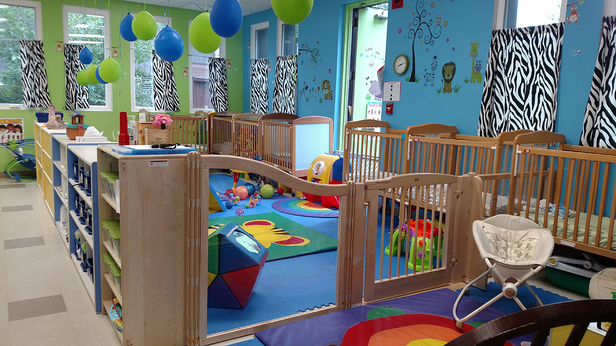 Infant classroom at St James Children School