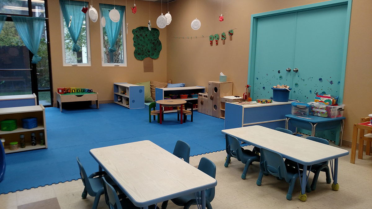 Toddlers classroom at St James Childrens School